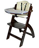 Abiie Beyond Y High Chair - Mahogany + Cream White