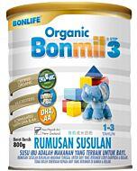 Bonlife Organic Bonmil Step 3 (1-3 years) 800g - 8% OFF!!