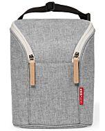 Skip Hop Grab & Go Double Bottle Bag - Grey Melange - 15% OFF!!