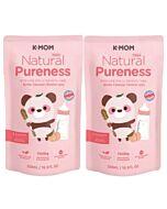 K-Mom - Natural Pureness Feeding Bottle Cleanser - Bubble Type - Refill (500ml) - 2 PACK!