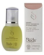 Buds Cherished Organics For Mum: Organic Breast Massage Oil 30ml -15% OFF!