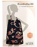 ISA UCHI Breastfeeding Bib | Navy Blue/Pink - 30% OFF!!