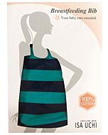 ISA UCHI Breastfeeding Bib | Navy Blue / Dark Green - 30% OFF!!