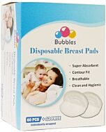 Bubbles: Disposable Breast Pads (Honeycomb NEW) (60pcs + FREE 12pcs) - 30% OFF!!