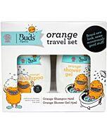 Buds For Kids: Orange Travel Set