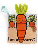 Jellycat: Carrot Book (15 x 16cm)