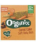 Organix Goodies Carrot Cake Soft Oaty Bars 6 x 30g (12+ Months)