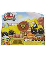 Play-Doh: Wheels - Excavator and Loader Toy Construction (3 Years Old & Above) - 10% OFF!!
