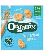 Organix Goodies Farm Animal Biscuits 100g (12+ Months)