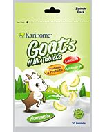 Karihome Goat's Milk Tablet (Probiotic & Prebiotic) 30 tablets | Honeymelon - 10% OFF!!