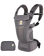 Ergobaby: Omni™ Breeze Baby Carrier - Graphite Grey