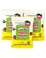 Care Mo Hand & Mouth Wet Wipes 8's x 3 packs