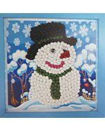 DIY Paper Art - Snowman