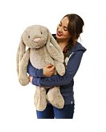 Jellycat: Bashful Beige Bunny - Really Big (67cm)  (Pre-order - limited units arriving on Apr 23)