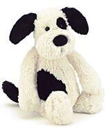 Jellycat: Bashful Black & Cream Puppy - Medium (31cm)