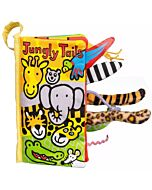 Jellycat: Jungly Tails Book (11 x 21cm)