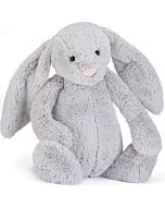 Jellycat: Bashful Silver Bunny Really Big (67cm) [PREORDER - Limited units arriving on 8 Apr]