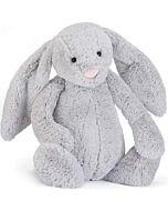 Jellycat: Bashful Silver Bunny Really Big (67cm)