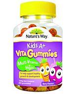 Nature's Way: Kid's A+ Vita Gummies Multi-Vitamin + Veggies 60's (Berry Flavour) - 18% OFF!!