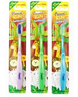Pureen: Kids Toothbrush *Assorted Colour* - 6 to 12 Years Old (6-12 Yrs ) (Buy 2 Get 1 FREE!)