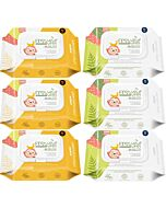 K-Mom : First Wet Wipes All Purposes Surfaces Baby Wipes 40pcs [6 PACKS] - 44% OFF!!