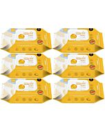 K-Mom: First Wet Wipes with Cap - Meeting - 70pcs [6 PACKS] - 52% OFF!!
