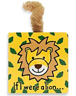 Jellycat: If I were a Lion Book (15cm)