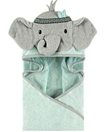 Little Treasure Animal Hooded Towel - Tribal Elephant (00350) - 32% OFF!!