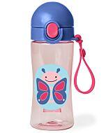 Skip Hop: Zoo Lock-Top Sports Bottle - Butterfly - 20% OFF!!