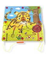 Funny Kid's: Animal Magnetic Maze - Tiger - 10% OFF!!