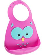 Make My Day: Baby Bib - Owl - 20% OFF!!