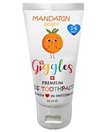 Giggles: Premium Kids Toothpaste 50ml - Mandarin Delight (1-6 years) - 10% OFF!!