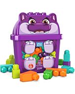Mega Bloks: Build N' Learn First Builders 25pcs - Silly Hippo - 15% OFF!!