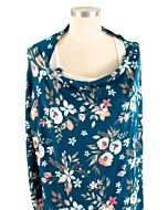 Bebe Au Lait: 5-in-1 Nursing Covers | Midnight Floral - 20% OFF!!
