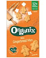 Organix Goodies Mini Gingerbread Men 5 x 25g (From 12+ Months)
