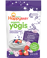 Happy Baby: Happy Yogis - Organic Yogurt snacks - Mixed Berry