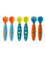 Boon: MODWARE Toddler Utensils 3Pack - Blue/Orange, Orange/Blue, Green/Blue - 15% OFF!!