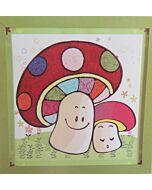 DIY Design Art - Mushroom