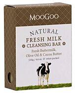 MooGoo: Natural Fresh Milk Cleansing Bar 130gm (Fresh Buttermilk, Olive Oil & Cocoa Butter) - 10% OFF!!