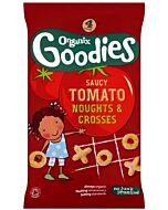 Organix Goodies Organic Saucy Tomato Noughts & Crosses 12+ Months (4 x 15g)