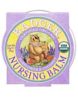 Badger: Organic Nursing Balm (Sunflower & Coconut) 0.75oz - 10% OFF!
