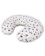 Bumble Bee: Nursing Pillow Case - White Bear (Knit Fabric)  - 25% OFF!!