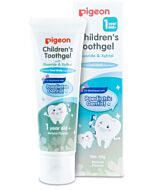 Pigeon: Children's Toothgel with Fluoride & Xylitol 45g (Natural Flavour) (12 mths and above) - 40% OFF!!