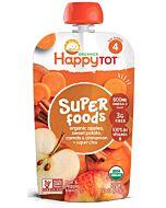 Happy Baby Organic Apples, Sweet Potato, Carrots & Cinnamon + Super Chia 120g (Stage 4) - 10% OFF!!