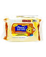 Pureen Baby Wipes (Fragrance Free, Alcohol Free & Paraben Free) Value Pack 2x30's - 24% OFF!!