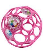 Oball Rattle™ Easy-Grasp Toy - Pink - 10% OFF!!
