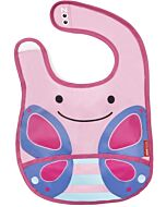 Skip Hop Zoo Tuck-Away Bib - Butterfly - 26% OFF!