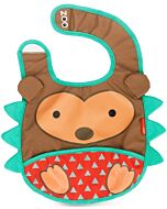 Skip Hop Zoo Tuck-Away Bib - Hedgehog - 26% OFF!