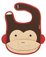 Skip Hop Zoo Tuck-Away Bib - Monkey - 22% OFF!!