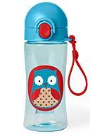 Skip Hop: Zoo Lock-Top Sports Bottle - Owl - 20% OFF!!